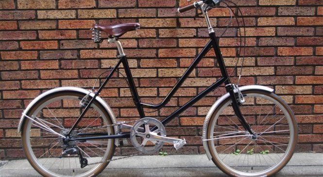 E.B.S Leaf451 + Honjo + Brooks =最高なデイリーバイク