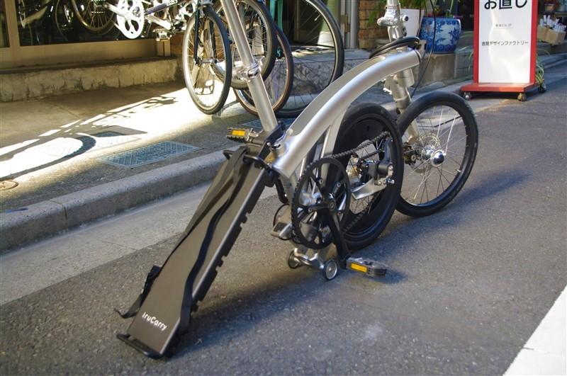 rukaの折り畳み自転車用のパーツ