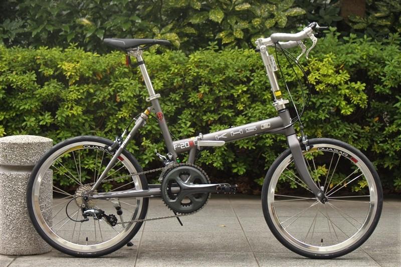 khsの折り畳み自転車f-20rcの2020年モデル