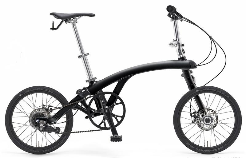 折り畳み自転車イルカ/irukaの完成車