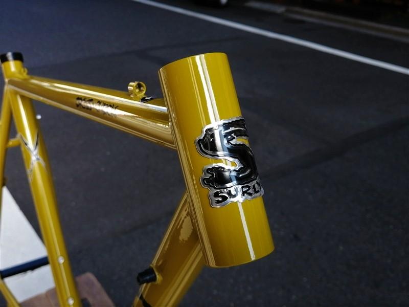 surlyのクロスバイクフレームcrosscheckのフレームセット