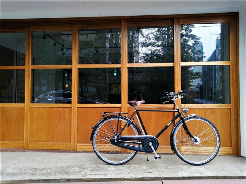 イギリス製自転車pashleyの実用車roadstarclassic