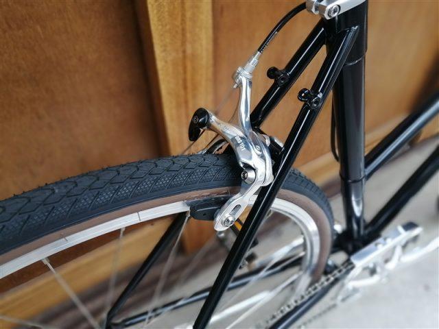 京都にてハンドメイドで生産される国産自転車tobiraのmodel-o完成車