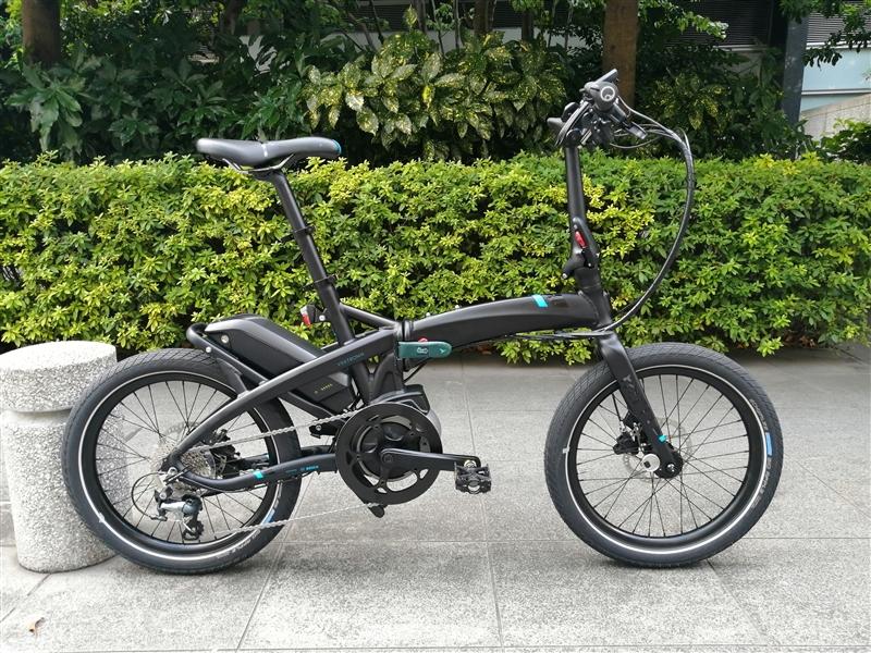 折り畳み自転車ブランドternのe-bikeの2021年モデルvektron s10