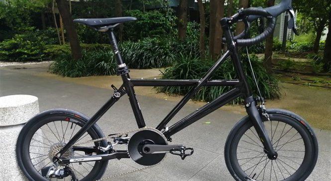 輪行も走りも妥協しないハイスペックなフォールディングバイク