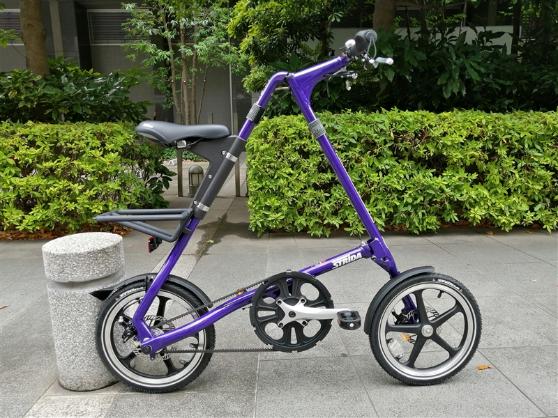 スタイリッシュな折り畳み自転車stridaのLT新色