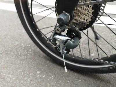 デザイン性の高いe-bikeブランドbesvのカーボンフレームミニベロps-1