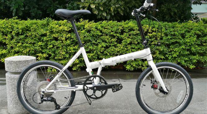 ディスクブレーキなフォールディングバイク