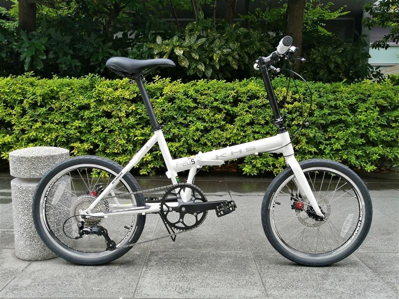アメリカの総合ブランドKHSの折り畳み自転車f-20sx完成車