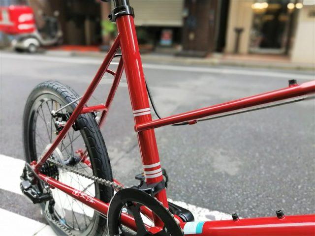 """旅にフォーカスした自転車をラインナップするbrunoのミニベロ""""mixte"""""""
