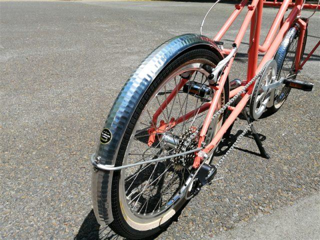 国産ハンドメイドフレームe.b.sのデイリーユースバイクleaflong