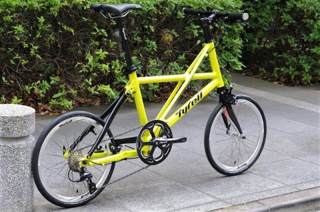 香川県発のミニベロブランドtyrellの軽量折り畳み自転車fxα