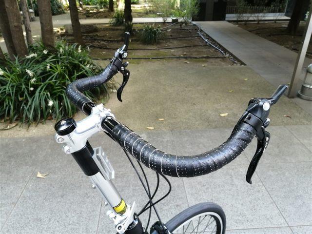 アメリカンブランドkhsの折り畳み自転車f-20rc shimano ultegraカスタム